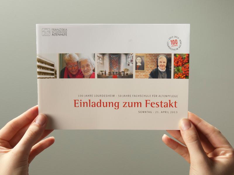 ... [Foto: Einladung, Programm Und Antwortkarte] ...