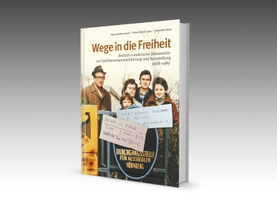 Buch Wege in ide Freiheit Cover 3D Collage